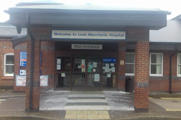 Leek Moorlands Hospital Entrance